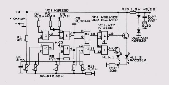 разряда конденсатора на